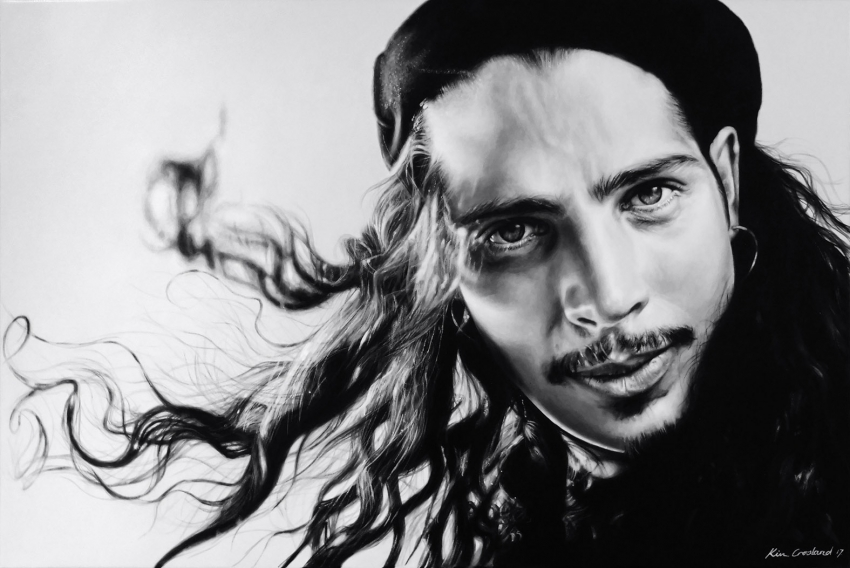 Chris Cornell by chaosart